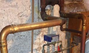 coppeer & steel pipe