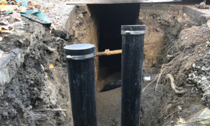 building sewer
