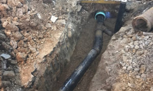building drain