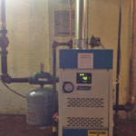 april 2016 hot water boiler installation