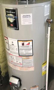 tank type water heater