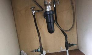 double shut-off valves