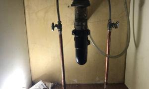 one set of shut-off valves