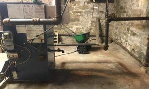 wrong steam boiler piping, boiler clank