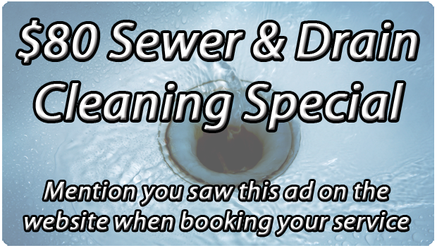 $80 drain cleaning