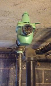 clogged feed valve