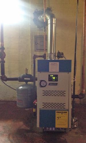 Hot Water Boiler Installation April 2016 - Vince Marino Plumbing LLC