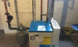 power vented boiler
